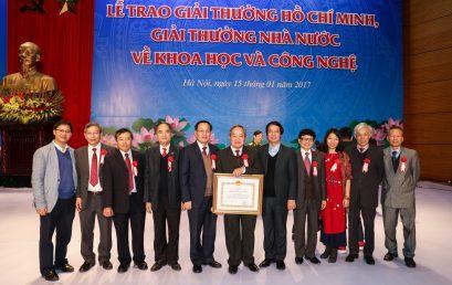 Lễ trao giải thưởng Nhà nước, giải thưởng Hồ Chí Minh về KH&CN năm 2016