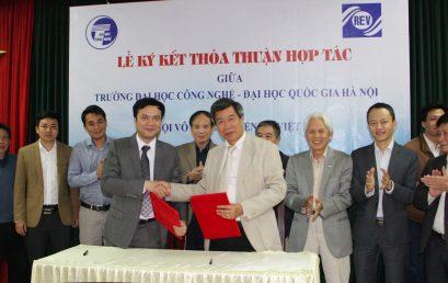Lễ ký kết thỏa thuận hợp tác giữa Trường Đại học Công nghệ và Hội Vô tuyến – Điện tử Việt Nam