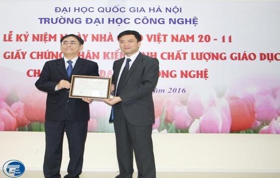 Truong nhan Giay chung nhan KDCLGD nam 2016