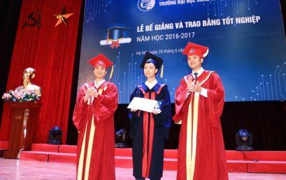 Thủ khoa tốt nghiệp Nguyễn Đức Nam: Trưởng thành về tư duy và tích lũy kinh nghiệm
