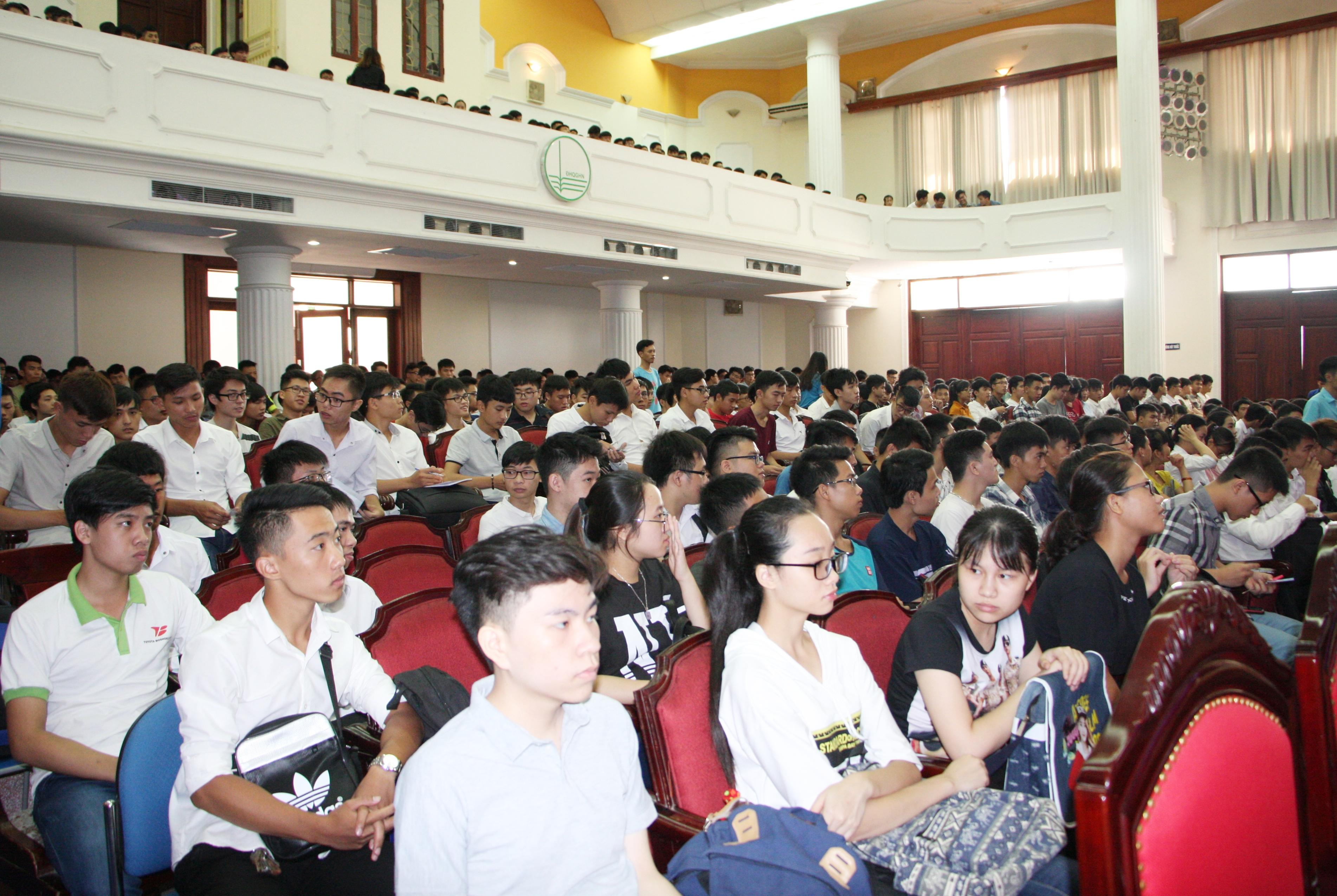 Tuần lễ hội nhập cho sinh viên, năm học 2017-2018