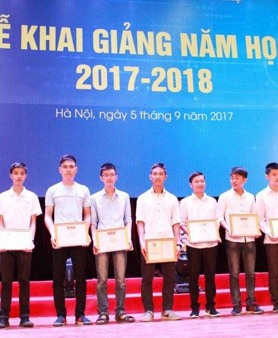 Trường Đại học Công nghệ khai giảng năm học 2017-2018