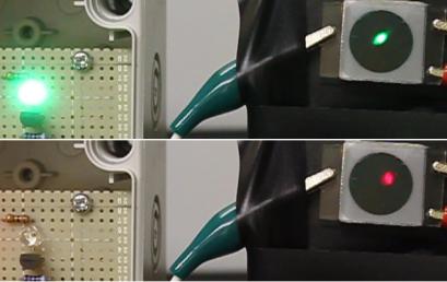 Nghiên cứu phát triển cảm biến quang có khả năng thay đổi chiều của dòng quang điện  khi thay đổi màu sắc của ánh sáng chiếu tới