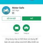 Motorsafe: Ứng dụng hỗ trợ người đi xe máy